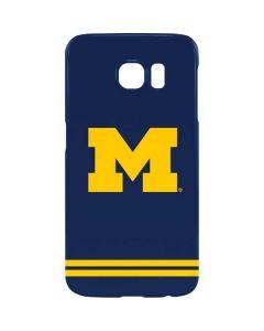 Michigan Logo Striped Galaxy S7 Edge Lite Case