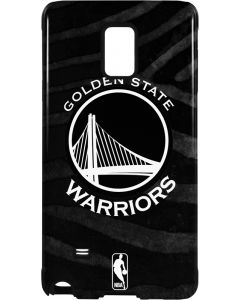Golden State Warriors Black Animal Print Galaxy Note 4 Pro Case
