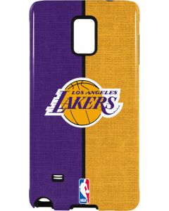 Los Angeles Lakers Canvas Galaxy Note 4 Pro Case