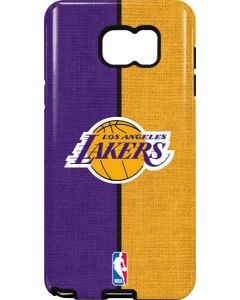 Los Angeles Lakers Canvas Galaxy Note5 Pro Case