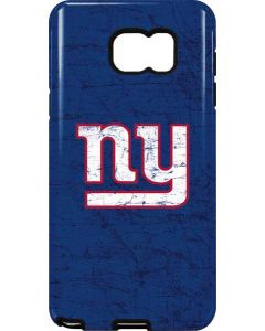 New York Giants Distressed Galaxy Note5 Pro Case