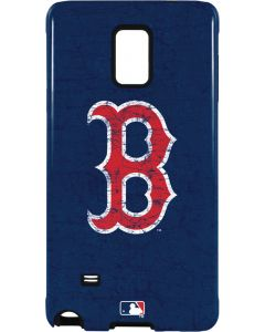Boston Red Sox - Solid Distressed Galaxy Note 4 Pro Case