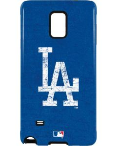 Los Angeles Dodgers - Solid Distressed Galaxy Note 4 Pro Case