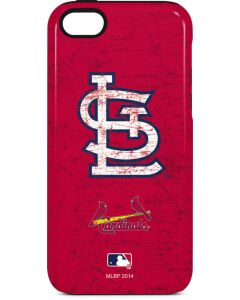 St. Louis Cardinals - Solid Distressed iPhone 5c Pro Case