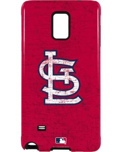 St. Louis Cardinals - Solid Distressed Galaxy Note 4 Pro Case