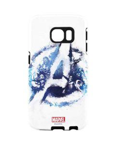 Avengers Blue Logo Galaxy S7 Edge Pro Case