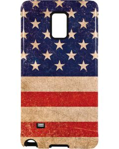 Distressed American Flag Galaxy Note 4 Pro Case