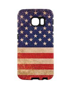 Distressed American Flag Galaxy S7 Edge Pro Case