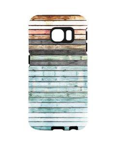 Wooden Stripes Galaxy S7 Edge Pro Case