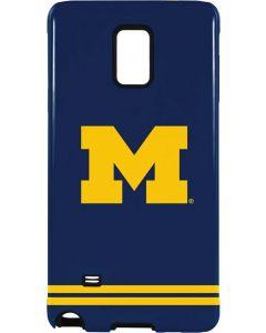 Michigan Logo Striped Galaxy Note 4 Pro Case