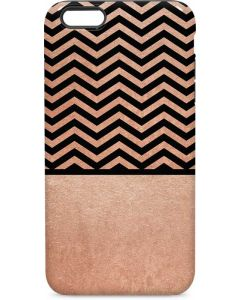 Rose Gold Chevron Split iPhone 6/6s Plus Pro Case