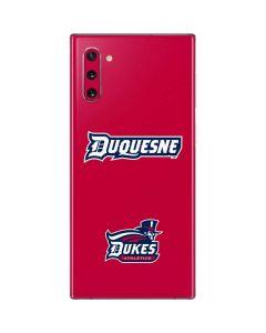 Duquesne Dukes Galaxy Note 10 Skin
