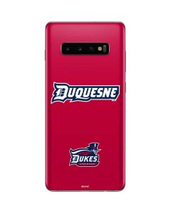 Duquesne Dukes Galaxy S10 Plus Skin