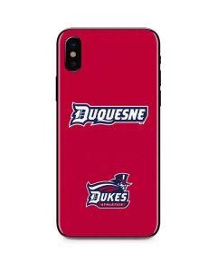 Duquesne Dukes iPhone XS Max Skin