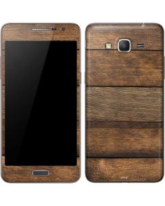 Early American Wood Planks Galaxy Grand Prime Skin