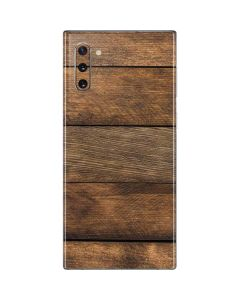 Early American Wood Planks Galaxy Note 10 Skin