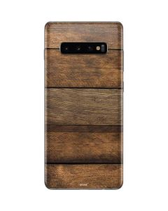 Early American Wood Planks Galaxy S10 Plus Skin