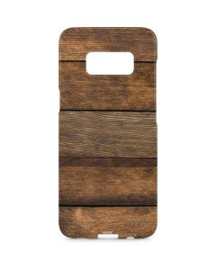 Early American Wood Planks Galaxy S8 Plus Lite Case