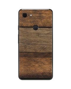 Early American Wood Planks Google Pixel 3 XL Skin