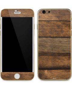 Early American Wood Planks iPhone 6/6s Skin