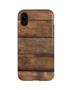Early American Wood Planks iPhone XR Pro Case