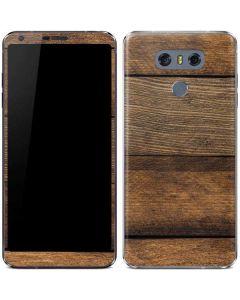 Early American Wood Planks LG G6 Skin