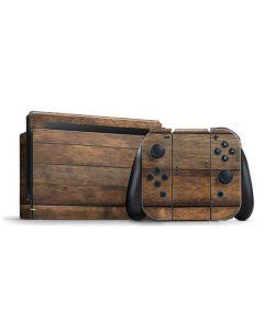 Early American Wood Planks Nintendo Switch Bundle Skin