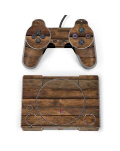 Early American Wood Planks PlayStation Classic Bundle Skin