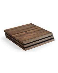 Early American Wood Planks PS4 Pro Console Skin