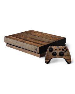 Early American Wood Planks Xbox One X Bundle Skin