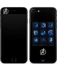 Earths Mightiest Heroes iPhone 8 Skin