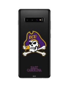 East Carolina Black Galaxy S10 Plus Skin