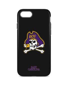 East Carolina Black iPhone 8 Pro Case