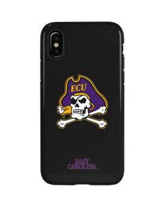 East Carolina Black iPhone X Pro Case