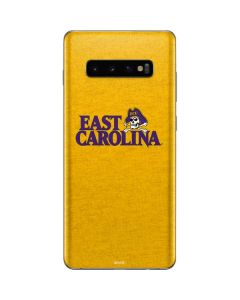 East Carolina Yellow Galaxy S10 Plus Skin