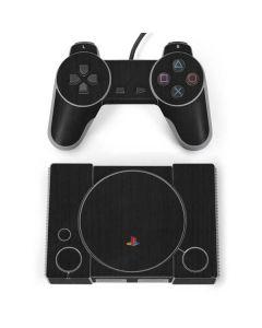 Ebony Wood PlayStation Classic Bundle Skin