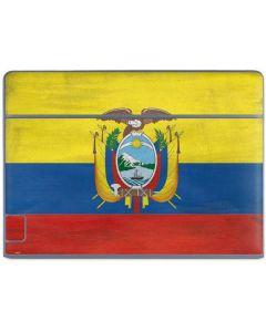 Ecuador Flag Distressed Galaxy Book Keyboard Folio 10.6in Skin