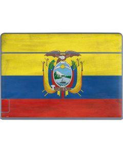 Ecuador Flag Distressed Galaxy Book Keyboard Folio 12in Skin