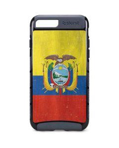 Ecuador Flag Distressed iPhone 8 Plus Cargo Case