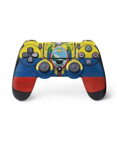Ecuador Flag Distressed PS4 Pro/Slim Controller Skin