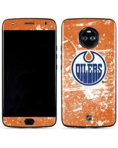 Edmonton Oilers Frozen Moto X4 Skin