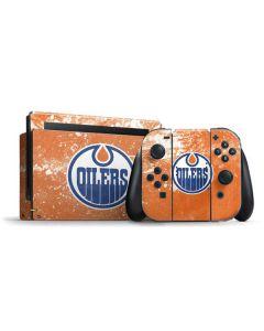 Edmonton Oilers Frozen Nintendo Switch Bundle Skin