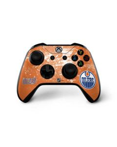 Edmonton Oilers Frozen Xbox One X Controller Skin