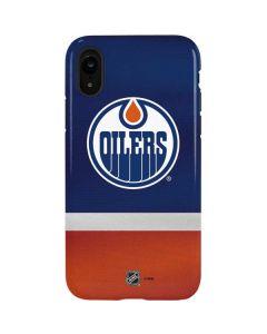 Edmonton Oilers Jersey iPhone XR Pro Case