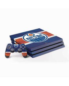 Edmonton Oilers Jersey PS4 Pro Bundle Skin