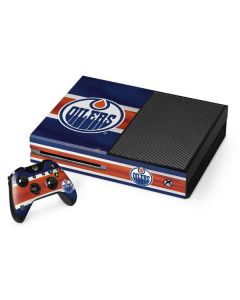 Edmonton Oilers Jersey Xbox One Console and Controller Bundle Skin