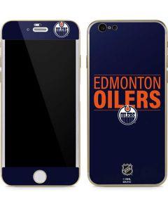 Edmonton Oilers Lineup iPhone 6/6s Skin