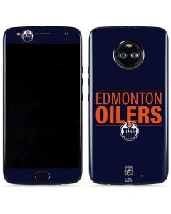 Edmonton Oilers Lineup Moto X4 Skin