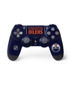 Edmonton Oilers Lineup PS4 Controller Skin