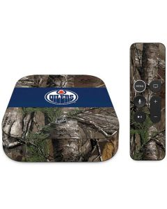 Edmonton Oilers Realtree Xtra Camo Apple TV Skin
